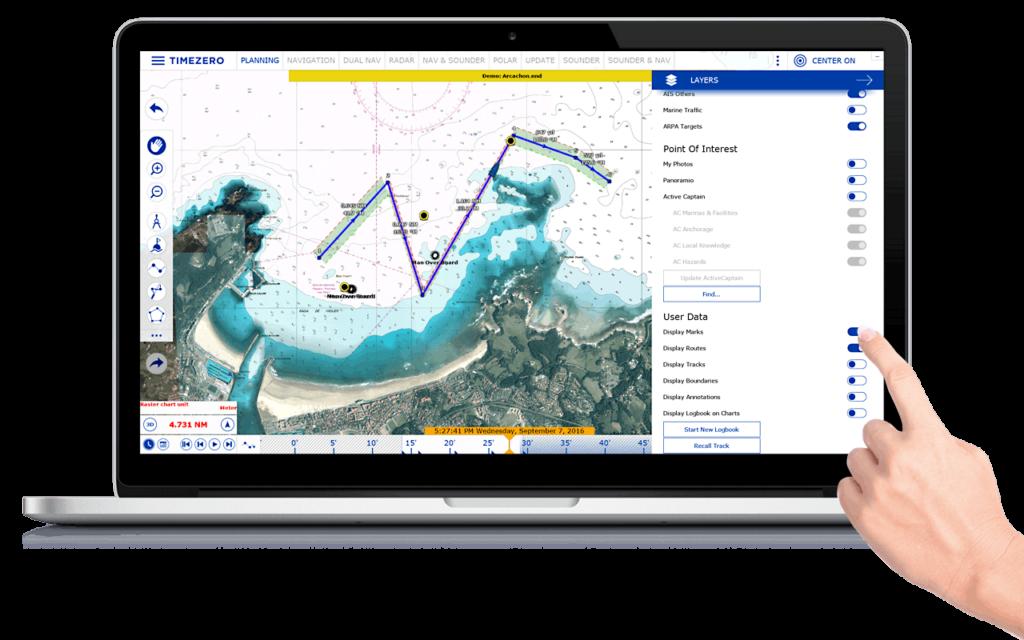 timezero navigator laptop
